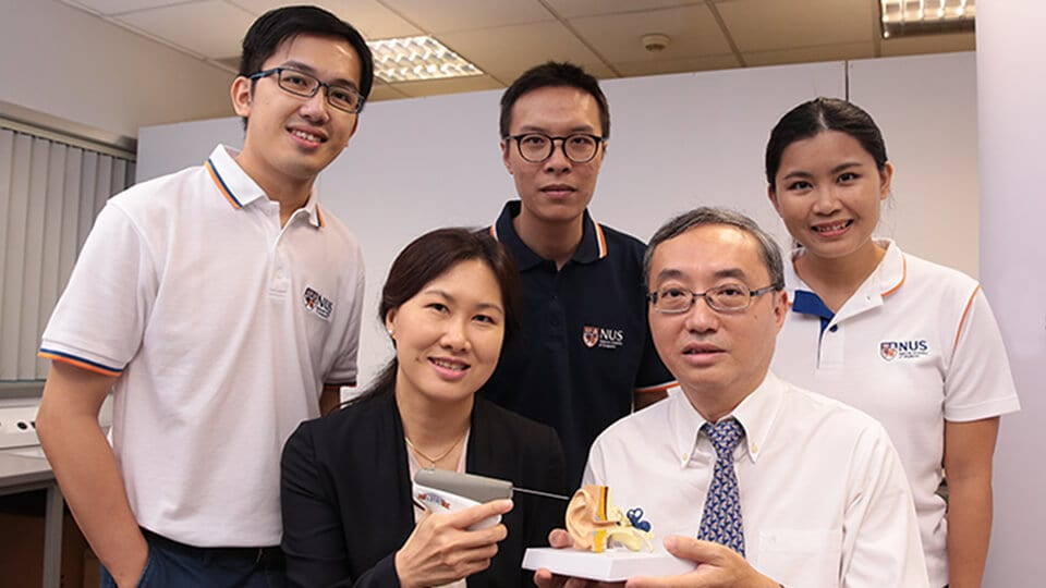 National University of Singapore Researchers Develop Device for Treatment of 'Glue Ear'