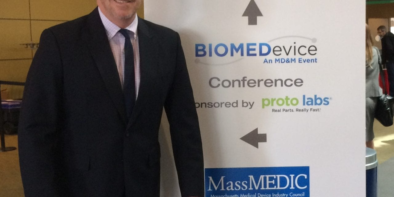 Oticon's Donald J. Shum Gives Presentation at BioMed Boston