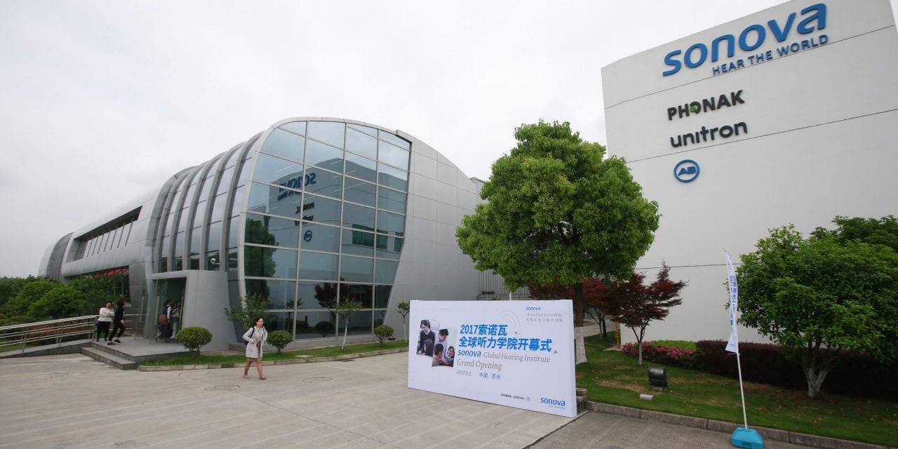 Sonova Opens Audiology Training Center in Suzhou, China