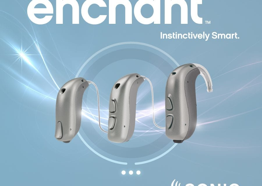 Sonic Launches Enchant Hearing Aid Family