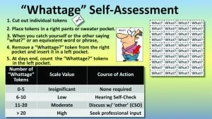 """Figure 6. The """"Whattage"""" Self-Assessment Kit."""