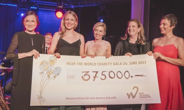 Hear the World Foundation Holds Charity Gala at Dolder Grand in Zurich