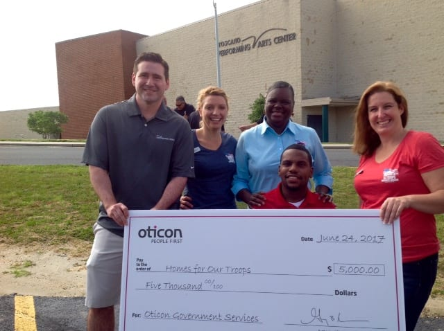Oticon Partners with Homes for Our Troops to Assist Injured Veterans