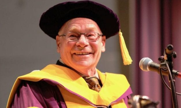 Richard Seewald Awarded Honorary Doctor of Science at Western University Canada