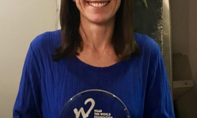 Global Foundation for Children with Hearing Loss Receives Richard Seewald Award