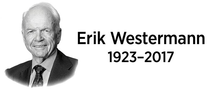 Passings: Erik Westermann, Co-founder of Widex