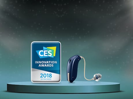 Oticon HearingFitness App Wins 2018 CES Innovation Award