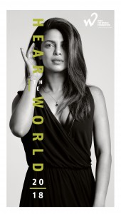 Appearing on the cover is actress, producer, and activist Priyanka Chopra.