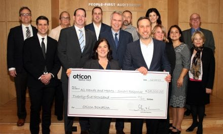 Oticon Donates $25K to 'All Hands and Hearts-Smart Response' Organization