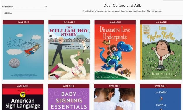 The Ohio Digital Library Adds Resources About Deaf Culture and ASL to Collection