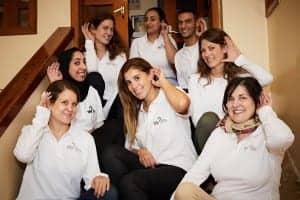 Hear the World Foundation volunteer team.