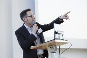 Dirk Junius, PhD, head of audiology development at Sivantos GmbH in Erlangen, Germany.