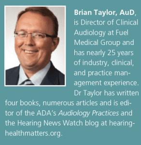 Brian Taylor, AuD, bio