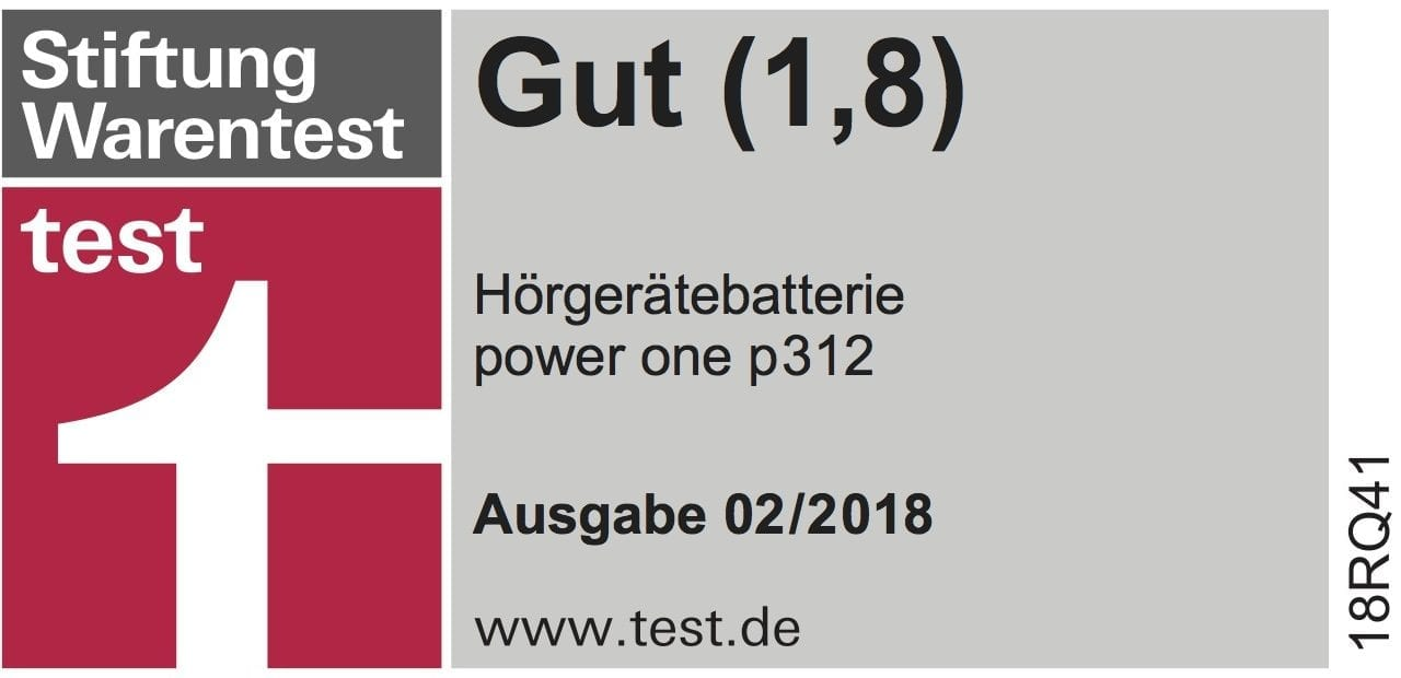 Power One Hearing Aid Batteries Receive High Rating From German Consumer Organization