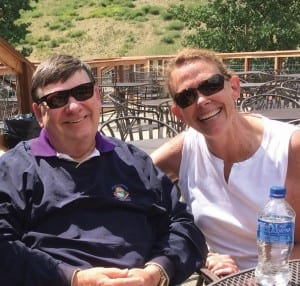 Creig and Patty Dunckel at last year's Oticon Summer Camp, an event he regularly participated in for 20 years.