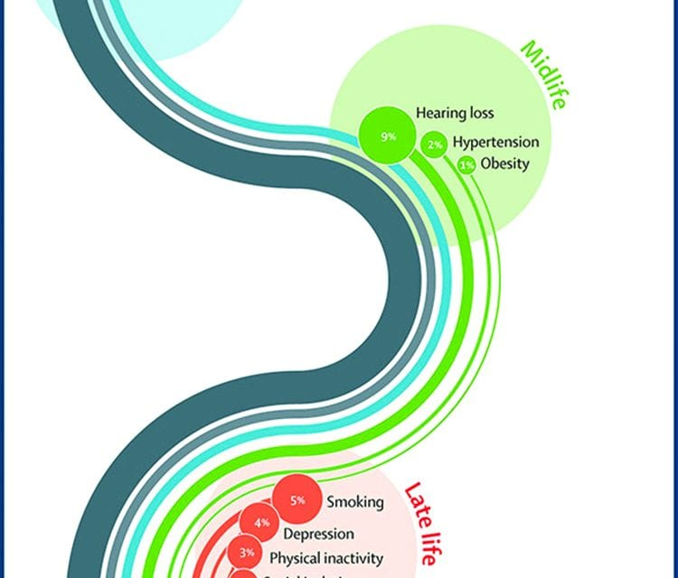Nine Risk Factors Associated with Dementia