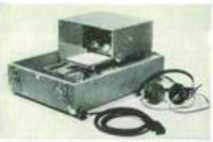 Figure 3. The Rudmose ARJ series of audiometers offered automated intensity, frequency, and data recording.