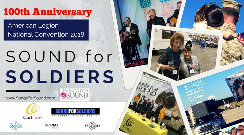 Songs for Sound Brings Free Hearing Health Clinic to American Legion National Convention