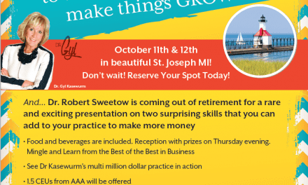 Dr Gyl Kasewurm's 'Biggest and Best Event Weekend Ever' to Take Place October 11-12 in Michigan