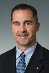 William Goode, senior advancement officer for athletics at Ferris State University in Michigan.