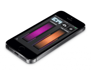 Screenshot of the Ear Machine app from EarMachine.com.