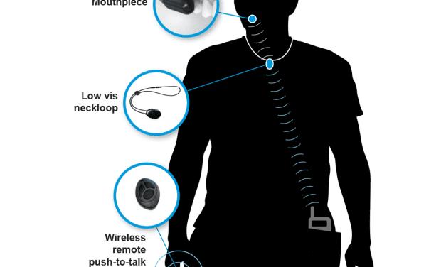 Soundbite Re-emerges as 'Molar Mic', a Military/Rescue Communication Device