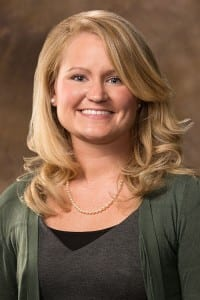 Rachel Glade, University of Arkansas clinical assistant professor of communication disorders.