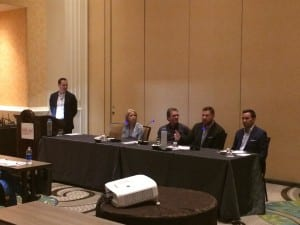 A panel led by Craig Castelli, featuring Elizabeth Rogers, AuD, William Diles, MA, Brain Vesely, AuD, and John Hartman, MA, provided perspectives on what the future holds for practice ownership.