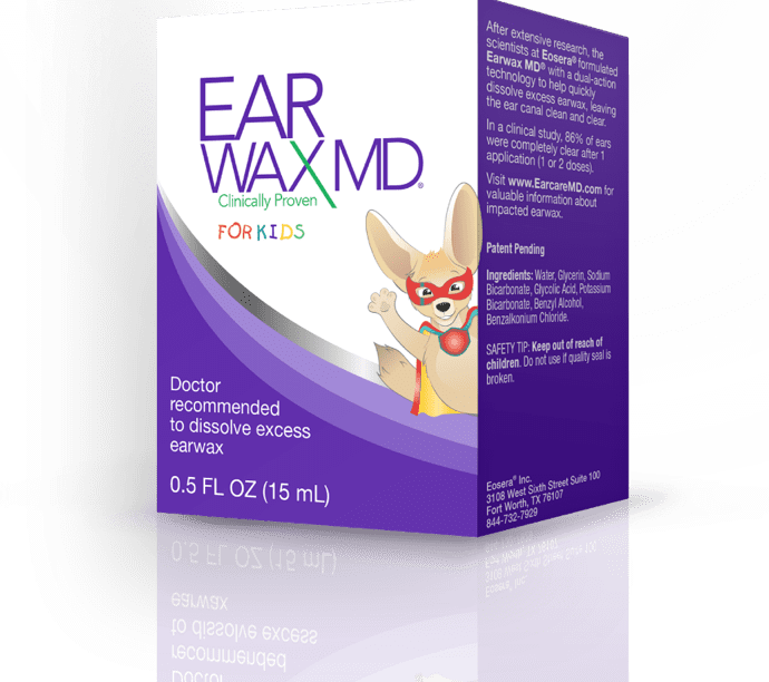 Eosera Launches Earwax MD for Kids on Amazon
