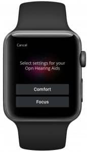 Oticon Kaizn App Watch