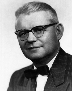 """Raymond Carhart (1912-1975) was the author of the December 1946 paper, """"Tests for Selection of Hearing Aids,""""2 and is often called the """"Father of Audiology."""" He received his degree in 1936 in Speech Pathology, Experimental Phonetics, and Psychology from Northwestern University, with his dissertation involving a mechanical model of the larynx. When Carhart was in the US Army during WWII, they asked him to head the aural rehabilitation program at Deshon Army Hospital in Butler, Pa. It was there, while assisting more than 16,000 hearing-impaired military personnel for the VA, that he helped popularize the idea of audiology as its own distinct research specialization. After WWII, Carhart returned to Northwestern to develop the country's first academic program in audiology, where he continued his research and headed the program until his death in 1975."""