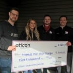 Oticon Donates to Organization Providing Homes for Veterans