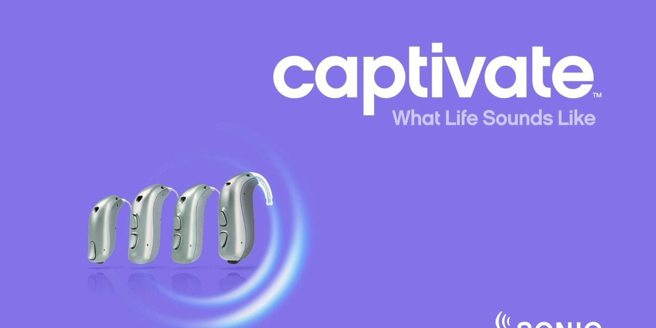 Sonic Launches New Captivate Hearing Aid Line