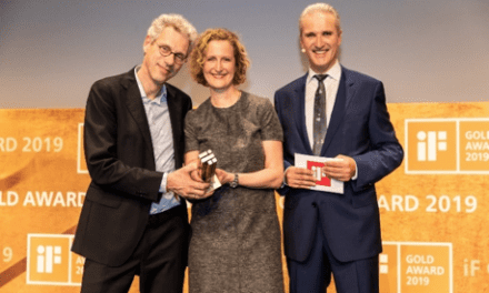 Signia Styletto Receives 2019 iF Gold Design Award