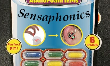 April 1 Product Launch: Sensaphonics Unveils New Magic-Grow AudioFoam™ IEMs