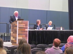 """A look at the most interesting literature pertaining to hearing aids was provided by Gus Mueller, Catherine Palmer, and Bob Turner in their annual """"Hearing Aids in Review"""" feature session."""
