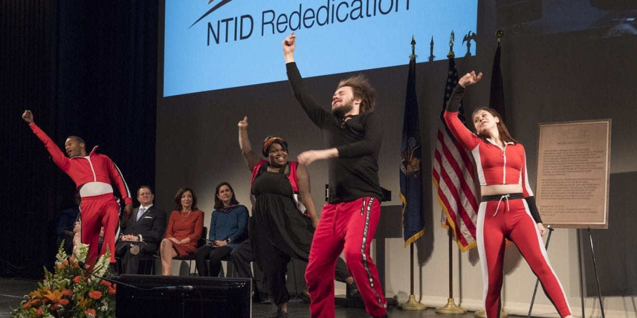 RIT/NTID Celebrates 50-Year Anniversary with Rededication Ceremony