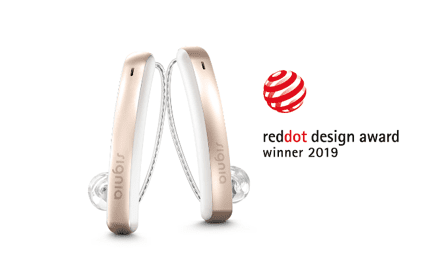Signia Styletto Connect Hearing Aids Win Red Dot Design Award