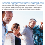 SPECIAL REPORT: Social Engagement and Hearing Loss