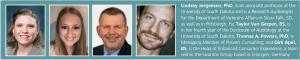 Lindsay Jorgensen, PhD, Taylor VanGerpen, Thomas A. Powers, PhD, and Dirk Apel bio.