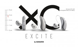 AQ sound XC with rechargeable lithium-ion battery.