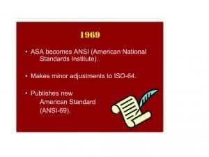 Figure 7. The ANSI-69 Standard.