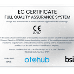 Otohub Products Receive CE Mark Certification from BSI