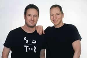 Right to left: Hi Auto co-founders, CEO Roy Baharv and CTO Eyal Shapira