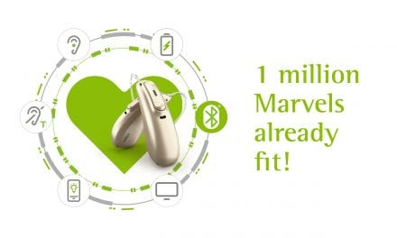 Phonak Announces 1 Million Marvel Hearing Aid Fittings