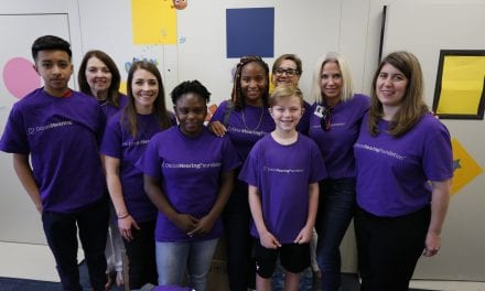 The Oticon Hearing Foundation Donates Hearing Aids to Fort Worth School District
