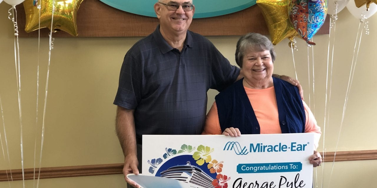 Miracle-Ear Awards Cruise to Customer in Company's 71st Anniversary Contest