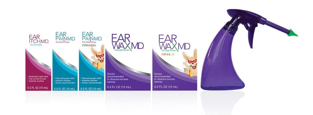 Eosera's Ear Itch MD and Wax Blaster MD Now Available at CVS and Amazon