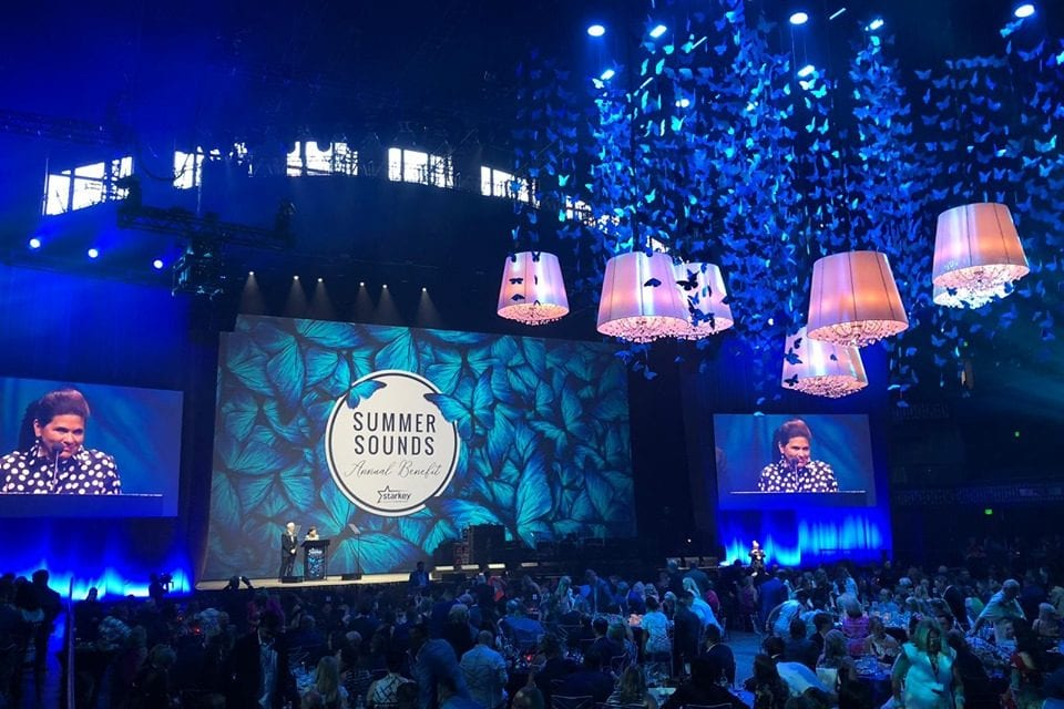 Starkey Hearing Foundation Hosts Inaugural Summer Sounds Annual Benefit