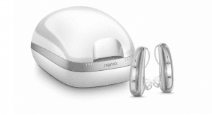 The Pure Charge&Go X offers advanced Signia Xperience hearing technology with lithium-ion rechargeability and full Bluetooth connectivity.